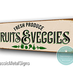 Fruits and Veggies Signs