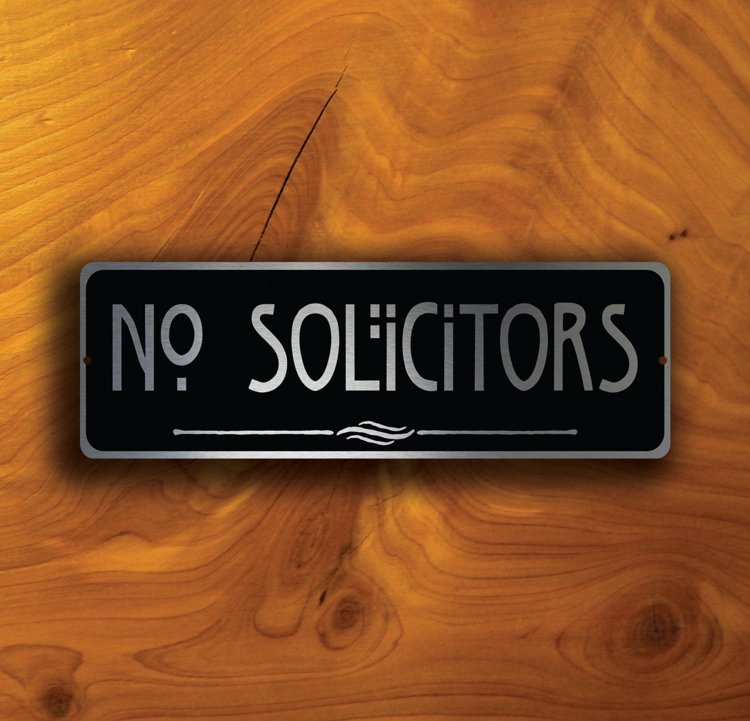 NO SOLICITORS SIGN