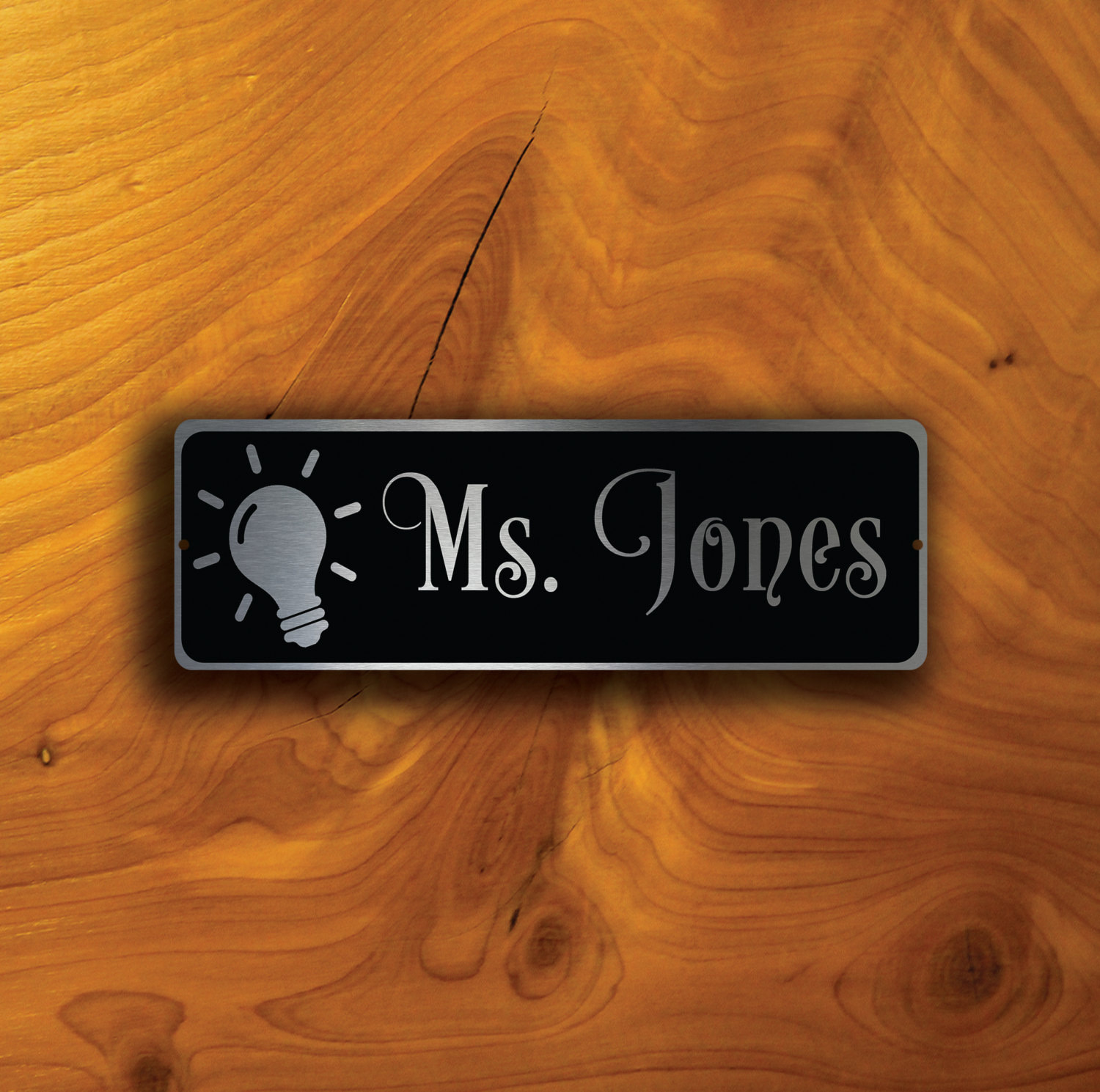 TEACHERS DOOR NAMEPLATE Sign