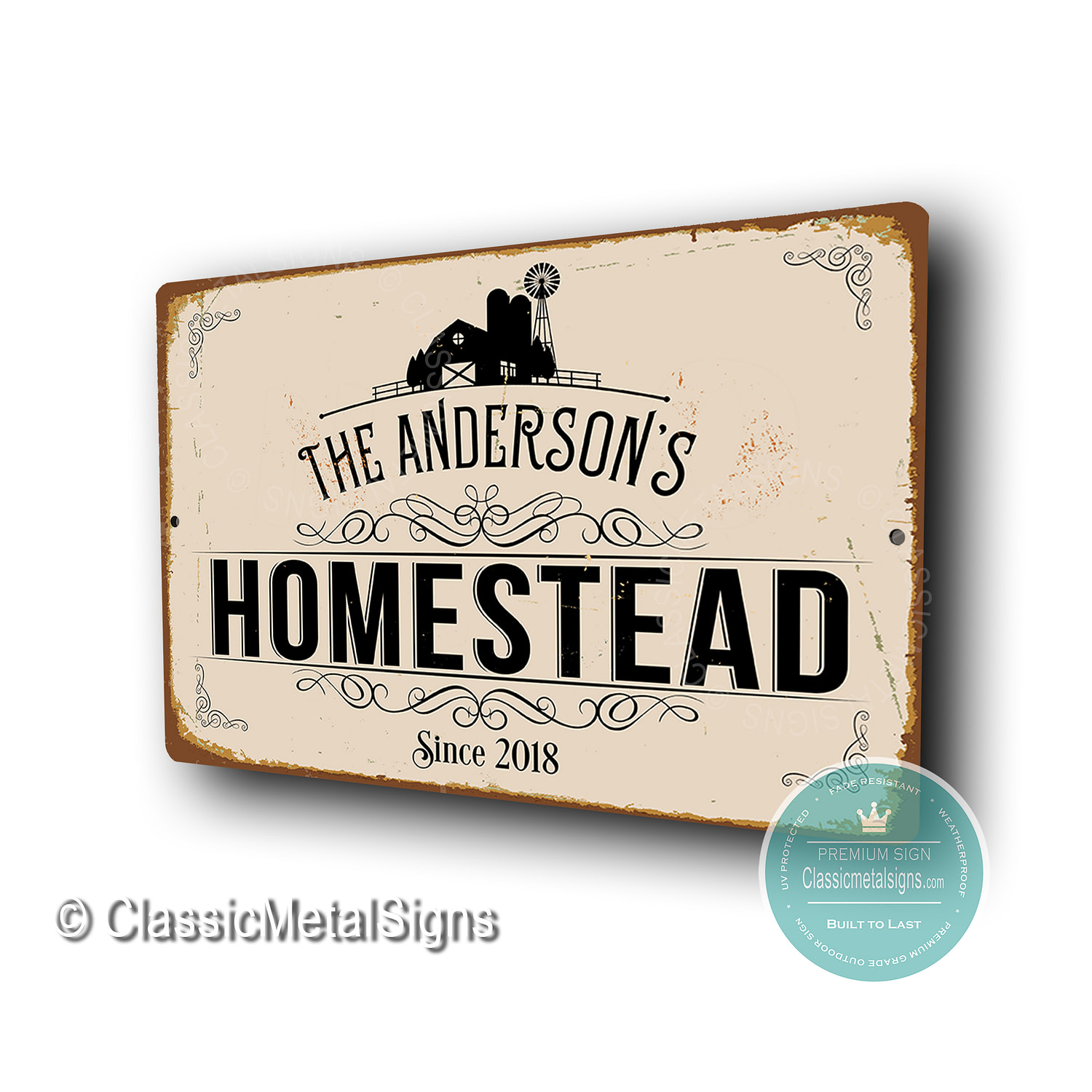 Custom Homestead Signs