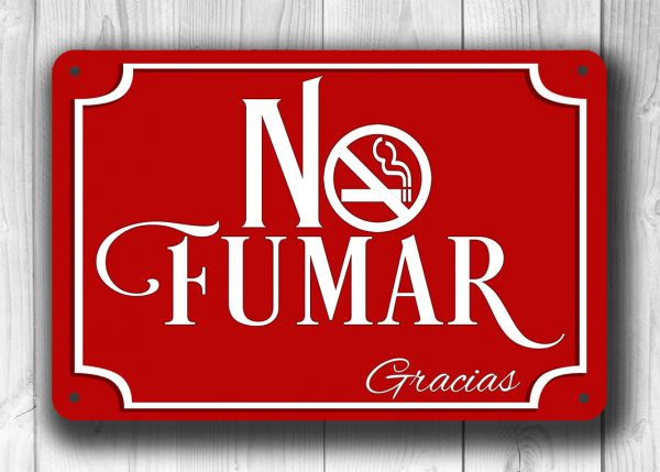 NO FUMAR SIGN