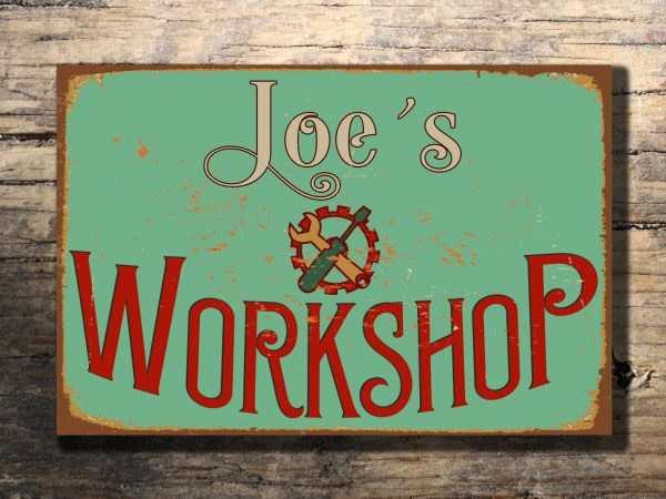 Workshop Signs