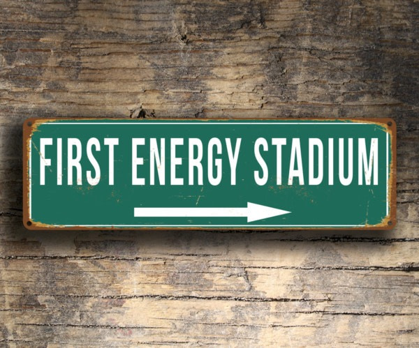 First Energy Stadium Sign