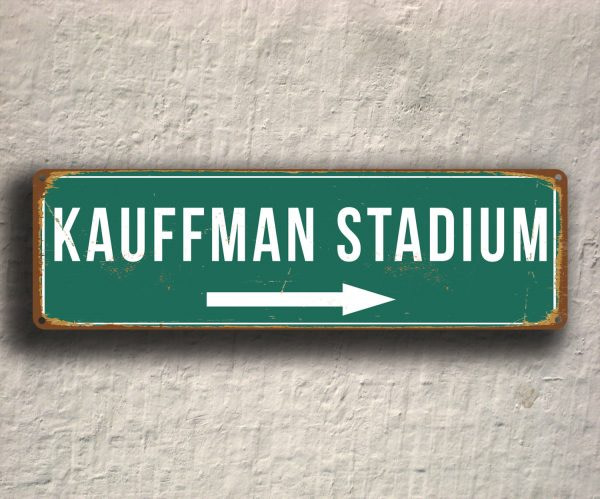 KAUFFMAN STADIUM SIGN