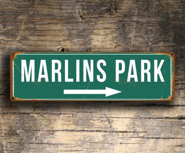 MARLINS PARK SIGN
