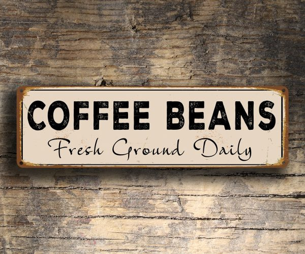 Coffee Beans Sign
