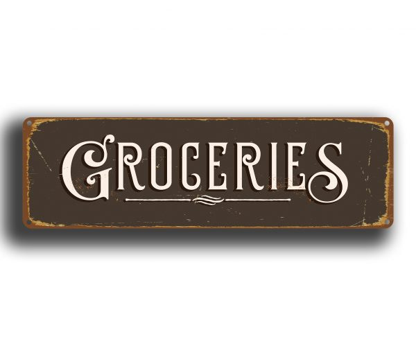 Grocery Signs
