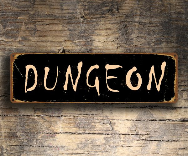 Dungeon Sign