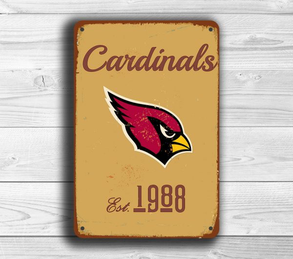 Arizona Cardinals Logo Sign