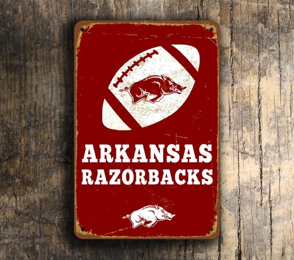 ARKANSAS RAZORBACKS SIGN