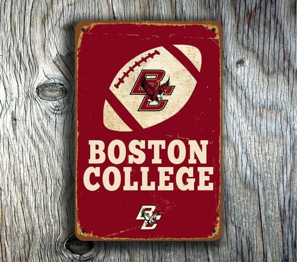 BOSTON COLLEGE SIGN
