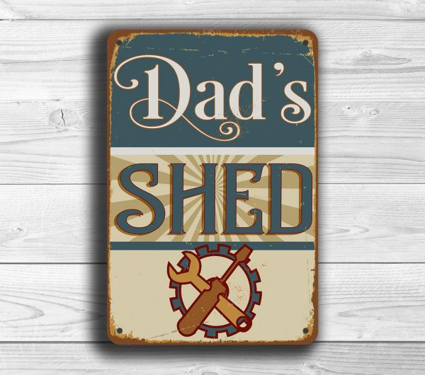 DADS SHED SIGN