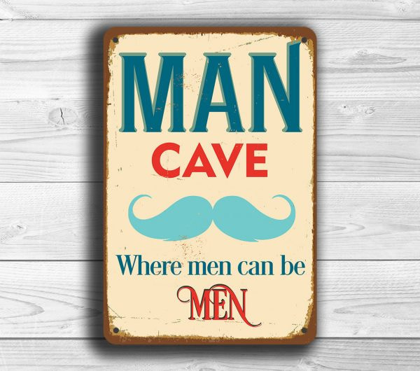 Man Cave Signs
