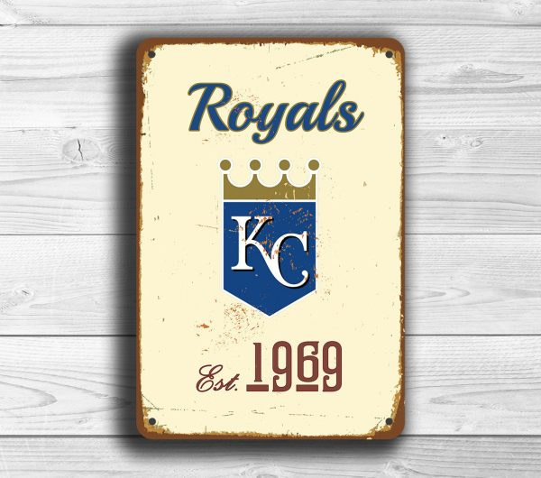 KANSAS CITY ROYALS Sign