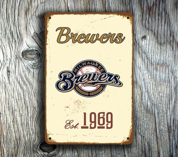 MILWAUKEE BREWERS SIGN