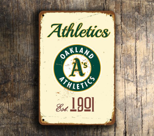OAKLAND ATHLETICS SIGN