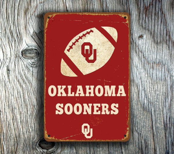 OKLAHOMA SOONERS SIGN