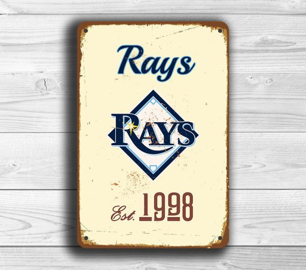 TAMPA BAY RAYS Sign