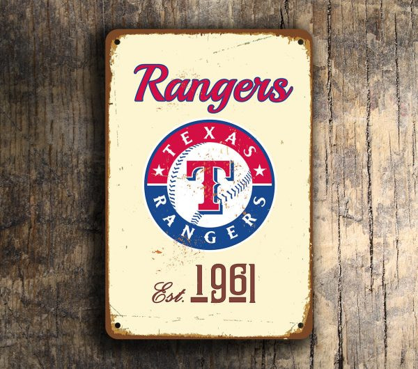 TEXAS RANGERS SIGN