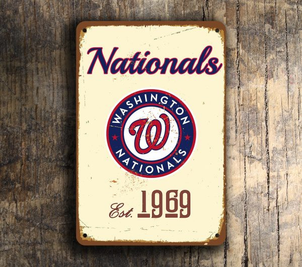 WASHINGTON NATIONALS SIGN