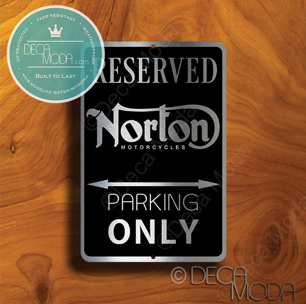 Norton Parking Only Signs