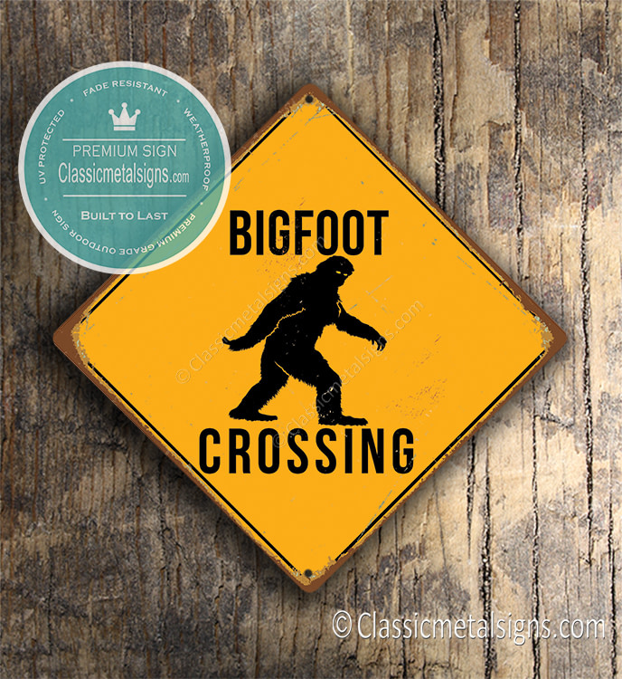 Big Foot Signs