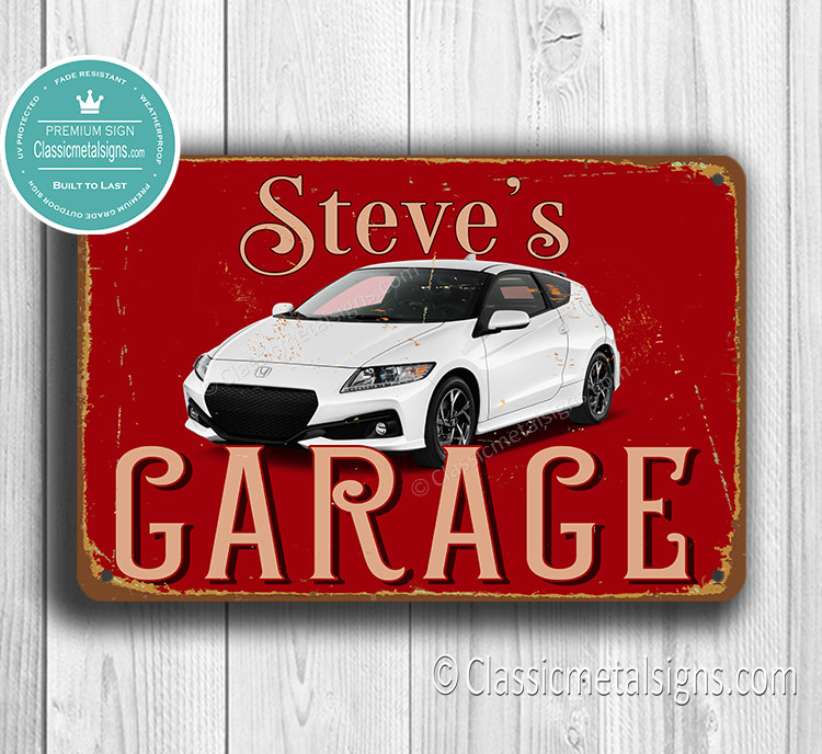 Personalized Honda CRZ Garage