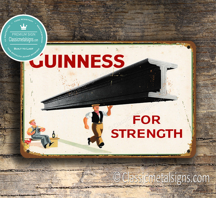 Guinness For Strength Sign