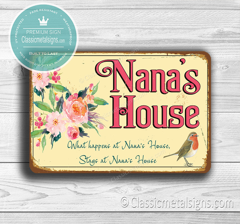 Nana's House Signs