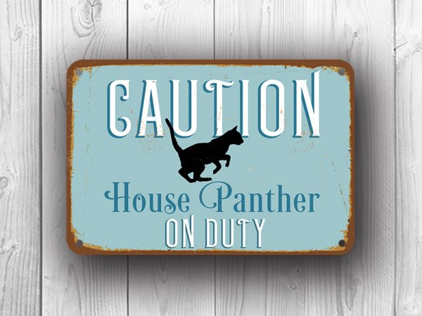 Custom sign with text and graphic