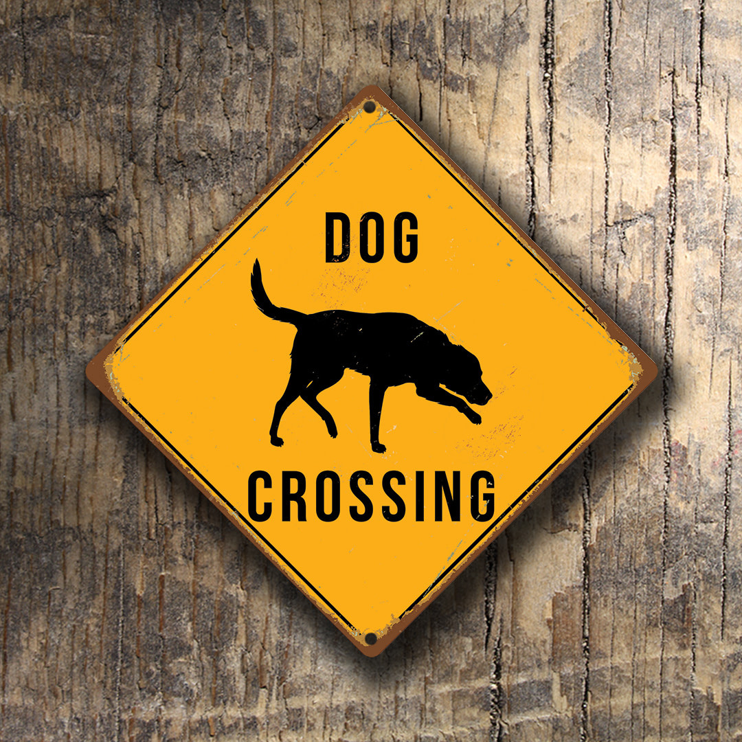Dog Crossing Sign 1