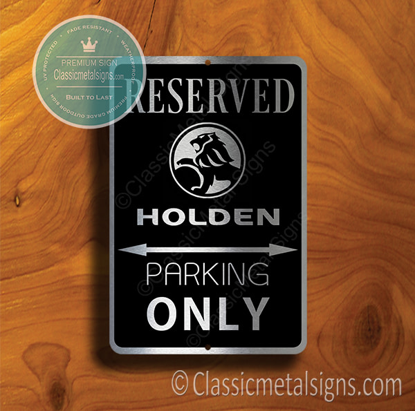 Holden Parking Signs